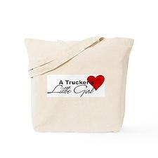 Trucker's Little Girl Tote Bag