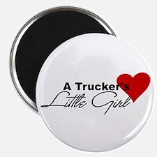 Trucker's Little Girl Magnet