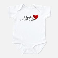 Trucker's Little Girl Infant Bodysuit