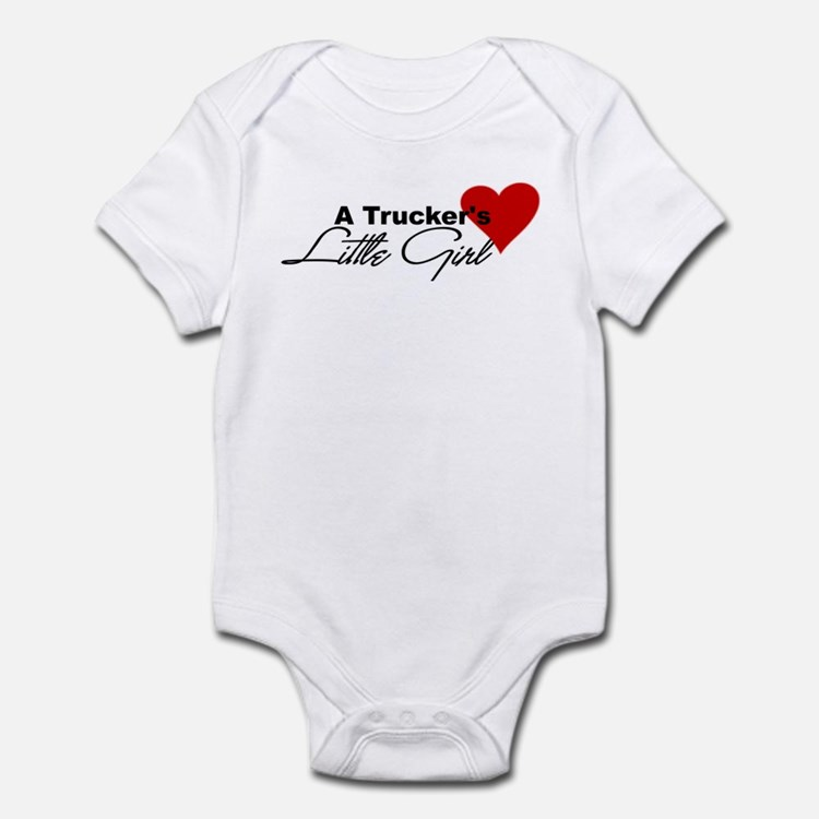 Trucker's Little Girl Infant Bodysuit