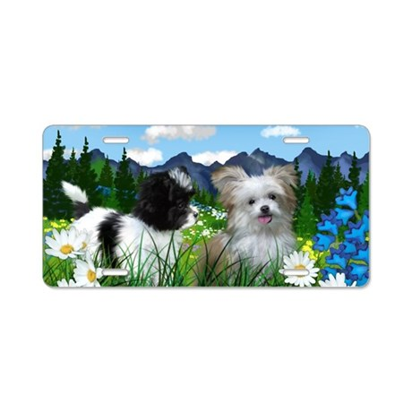 Jack and Boo copy Aluminum License Plate