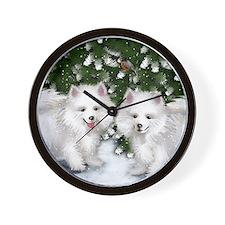 ae snow Wall Clock