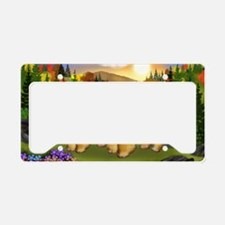 cc fall License Plate Holder