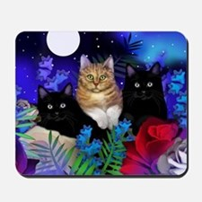 print cats Mousepad