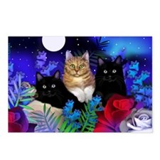 print cats Postcards (Package of 8)
