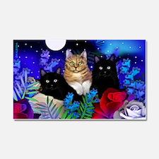 print cats Car Magnet 20 x 12