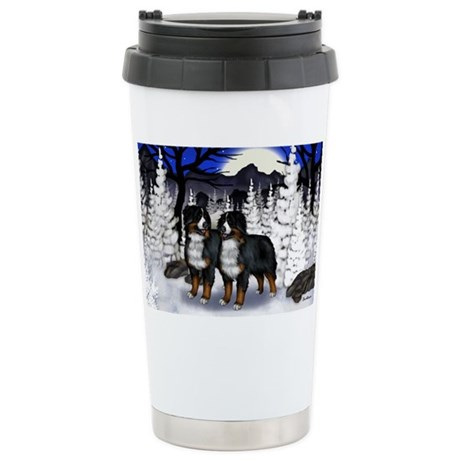 bern wm Stainless Steel Travel Mug