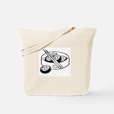 Chinese dim sum design Tote Bag