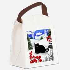 wb bcat Canvas Lunch Bag