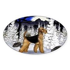 airedale wm Decal