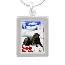 WB BLR Silver Portrait Necklace