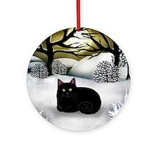 ws bc Round Ornament