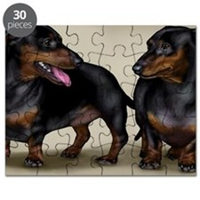 2-dachshunds copy Puzzle