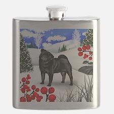 pug berries Flask