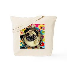 retropug copy Tote Bag