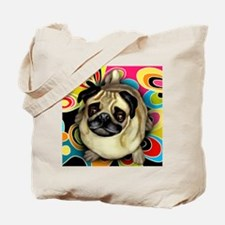 retropug copy Tote Bag