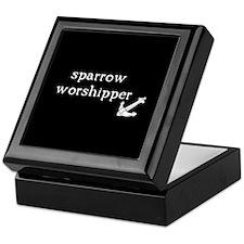 Sparrow Worshipper Keepsake Box