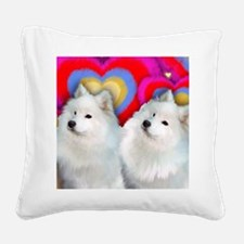 SAM M Square Canvas Pillow