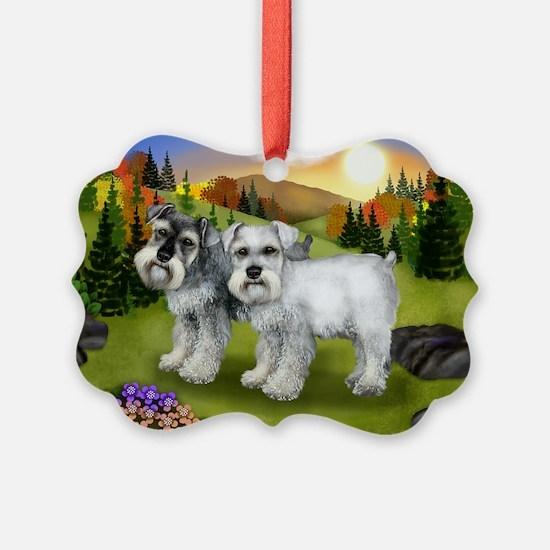 fall chnauzer Ornament