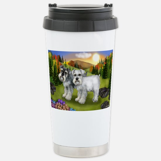 fall chnauzer Stainless Steel Travel Mug