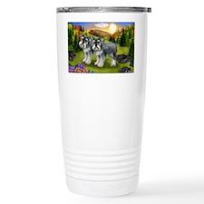 fall schnauzers Travel Mug