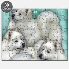 samoyed dogs Puzzle