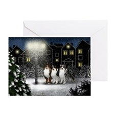 snowtown as Greeting Card