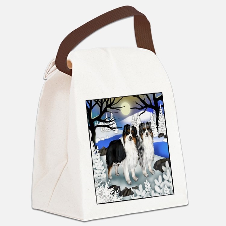 FROZENLAKE 2 2 Canvas Lunch Bag