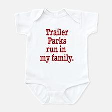 Cute Trailer park Infant Bodysuit