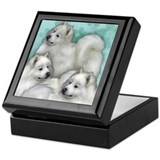 Samoyed Keepsake Boxes