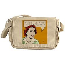 Ruth Barcan Marcus Messenger Bag