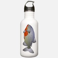 Red Belly Piranha  Ver Water Bottle