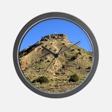 Wall Clock- Round Mountain