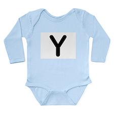 Letter Y Body Suit