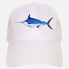 Striped Marlin fish Baseball Baseball Cap