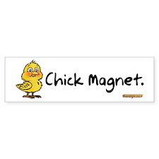 Chick Magnet Bumper Bumper Sticker
