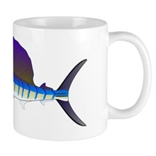 Sailfish billfish fish L Mug