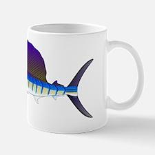 Sailfish billfish fish L Mug