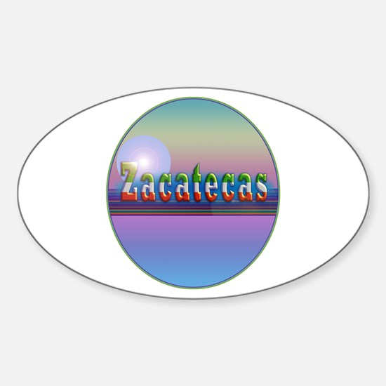 Zacatecas Sticker (Oval)