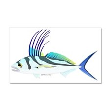 Roosterfish CC Car Magnet 20 x 12