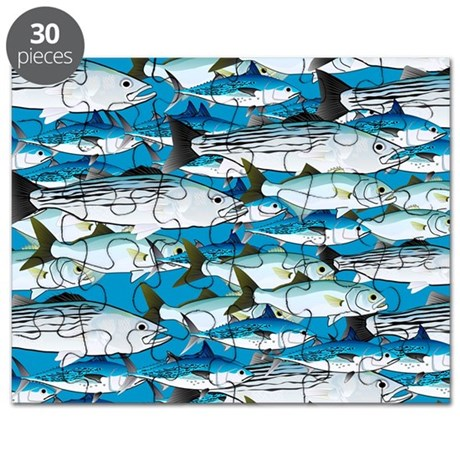 Atlantic School of Fish Attack 1 pattern PS Puzzle