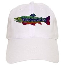 Brook Trout fish Baseball Cap