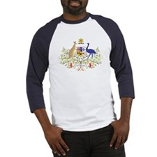 Aussie Coat of Arms Baseball Jersey