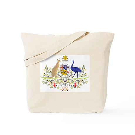 Aussie Coat of Arms Tote Bag