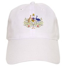 Aussie Coat of Arms Baseball Cap