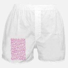 School of silly squid v3 Boxer Shorts