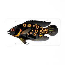 Oscar tropical fish t Aluminum License Plate
