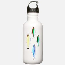 Four Tetras fish v Water Bottle