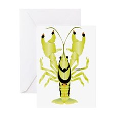 Ringed Crayfish T Greeting Card