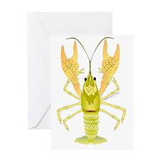 Ozark Crayfish TC Greeting Card